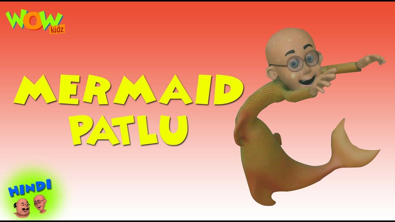 Download Motu Patlu Cartoons In Hindi    Animated Series   Mermaid Patlu   Wow Kidz