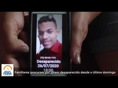 Familiares procuram por jovem desaparecido desde o último domingo