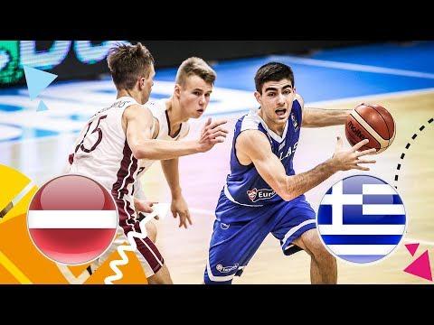 LIVE 🔴 –  Latvia v Greece – Class. 5-8 – FIBA U16 European Championship 2018