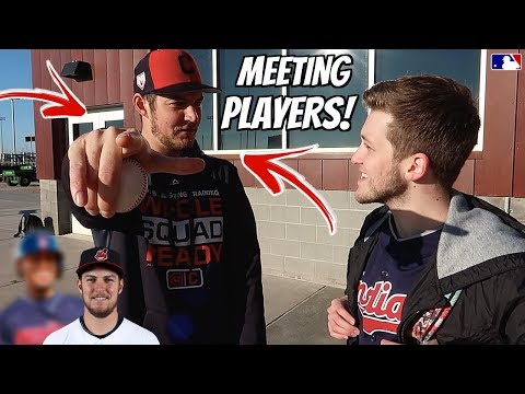 MEETING TREVOR BAUER & OTHERS AT SPRING TRAINING 2019!