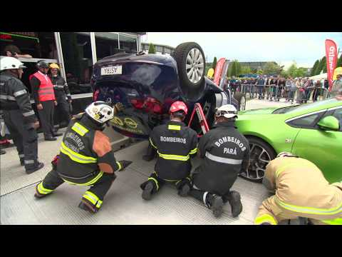 Holmatro Rescue Experience - Brazilian Extrication Team
