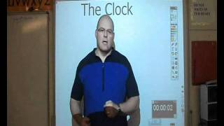 Use The Interactive Whiteboard Clock For Learning