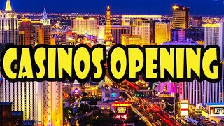 Which Las Vegas Hotels & Casinos Will Reopen First?
