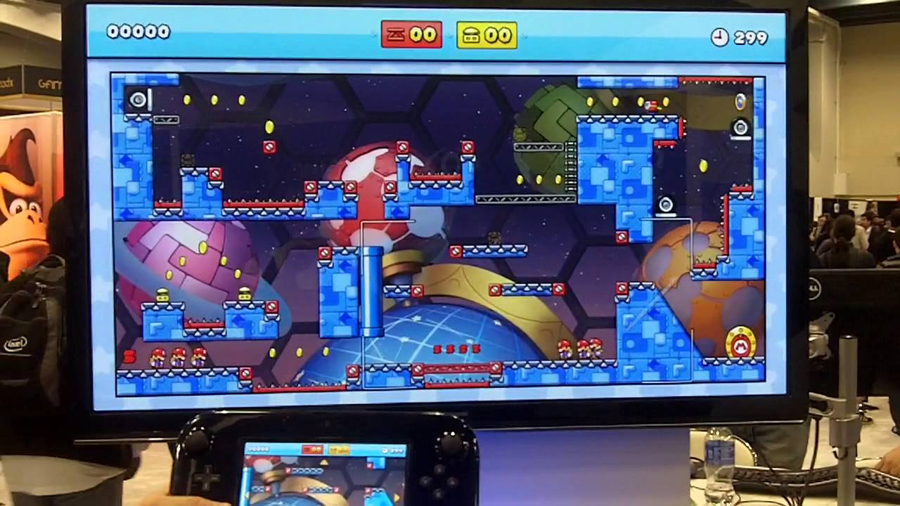Mario vs. Donkey Kong Wii U - GDC Web Framework Demo