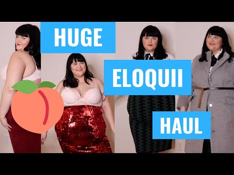 Eloquii | HUGE PLUS SIZE WINTER TRY-ON HAUL!
