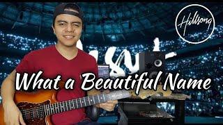 What A Beautiful Name - Hillsong Worship Instrumental Cover by Juninho Nakagawa