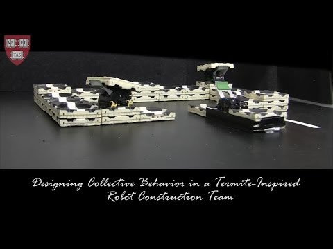 Autonomous Termite-Based Robotic Construction Crews