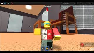 Roblox Random video: Survive the disasters.
