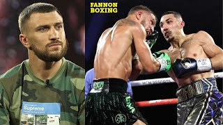"(WOW!) VASYL LOMACHENKO CRIES ""I WAS ROBBED!"", TEOFIMO LOPEZ DISSES ""OVERRATED, BASIC"" LOMACHENKO!"