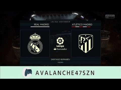 FIFA 18 DEMO - Madrid Derby - Real Madrid vs Atletico Madrid