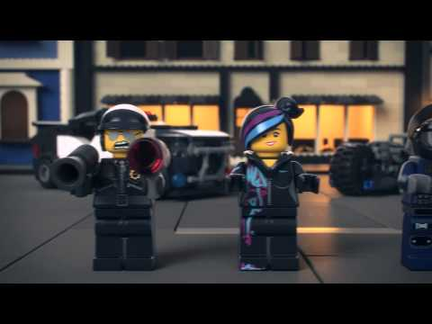 NEW Bad Cop Car Chase - The LEGO Movie - 70819 - Product Animation