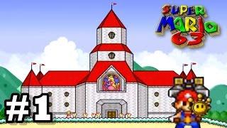 Vamos jogar: Super Mario 63 - episódio 1