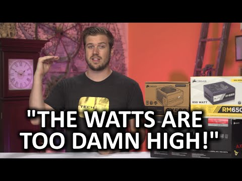 Why High Wattage Power Supplies Are Stupid