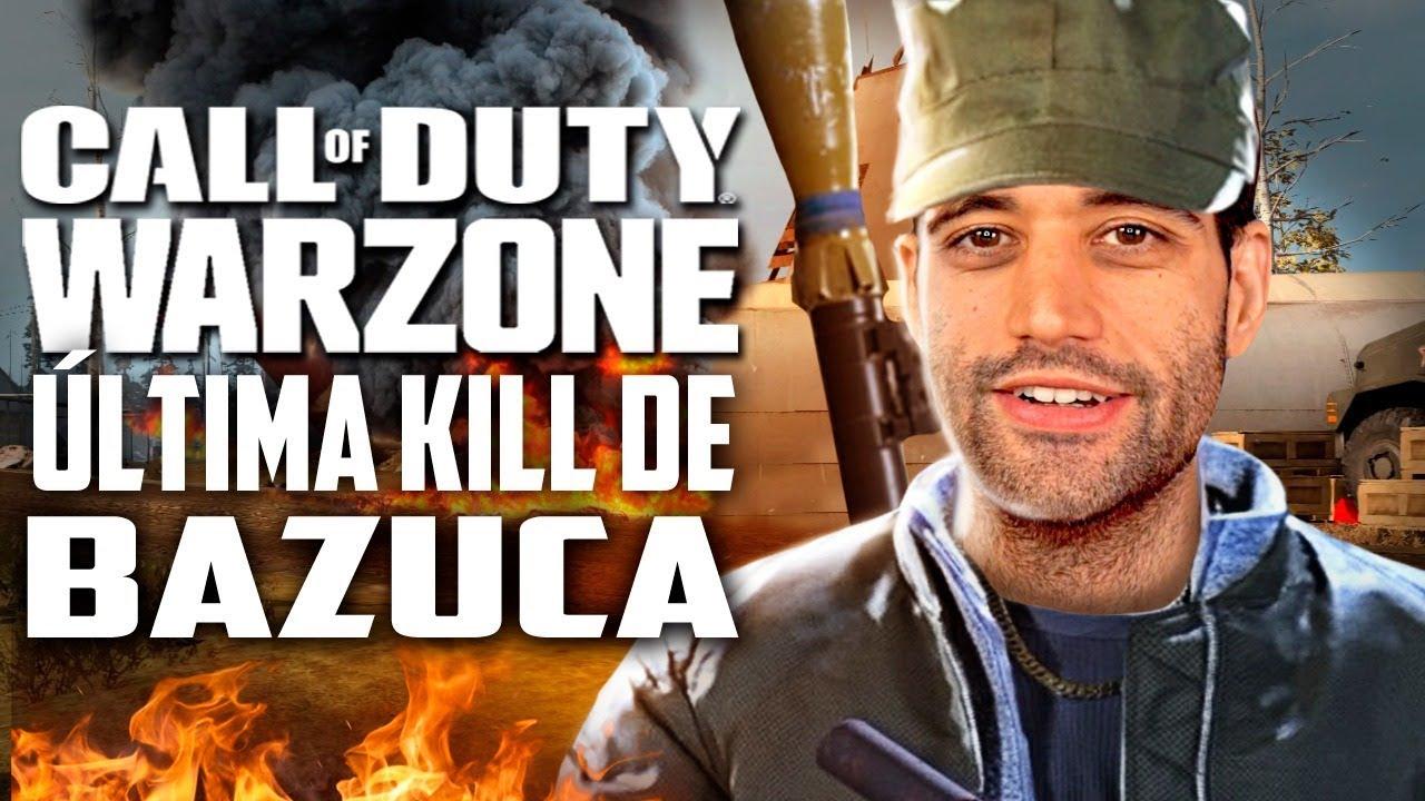 Call of Duty: Warzone - A ÚLTIMA KILL foi de BAZUCA