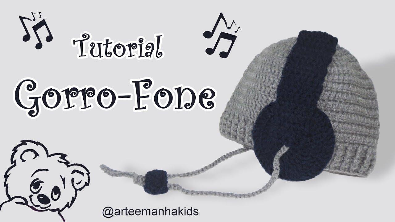 GORRO-FONE - YouTube 0539026d849