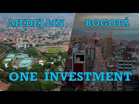 A COMBINED BOGOTA & MEDELLIN REAL ESTATE INVESTMENT WITH 9.7% ROI