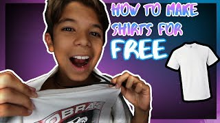 HOW TO MAKE YOUR OWN MERCH/SHIRT  LIKE CLOUT GANG! **NEW MERCH**