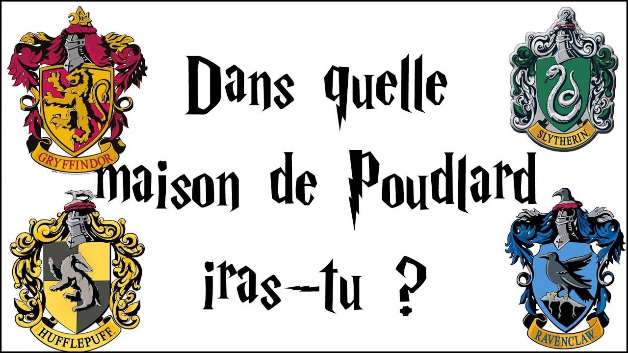 Dans quelle maison de Poudlard iras-tu ?