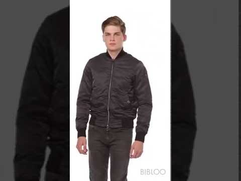 ARMANI JEANS BLOUSON IN TECHNICAL FABRIC