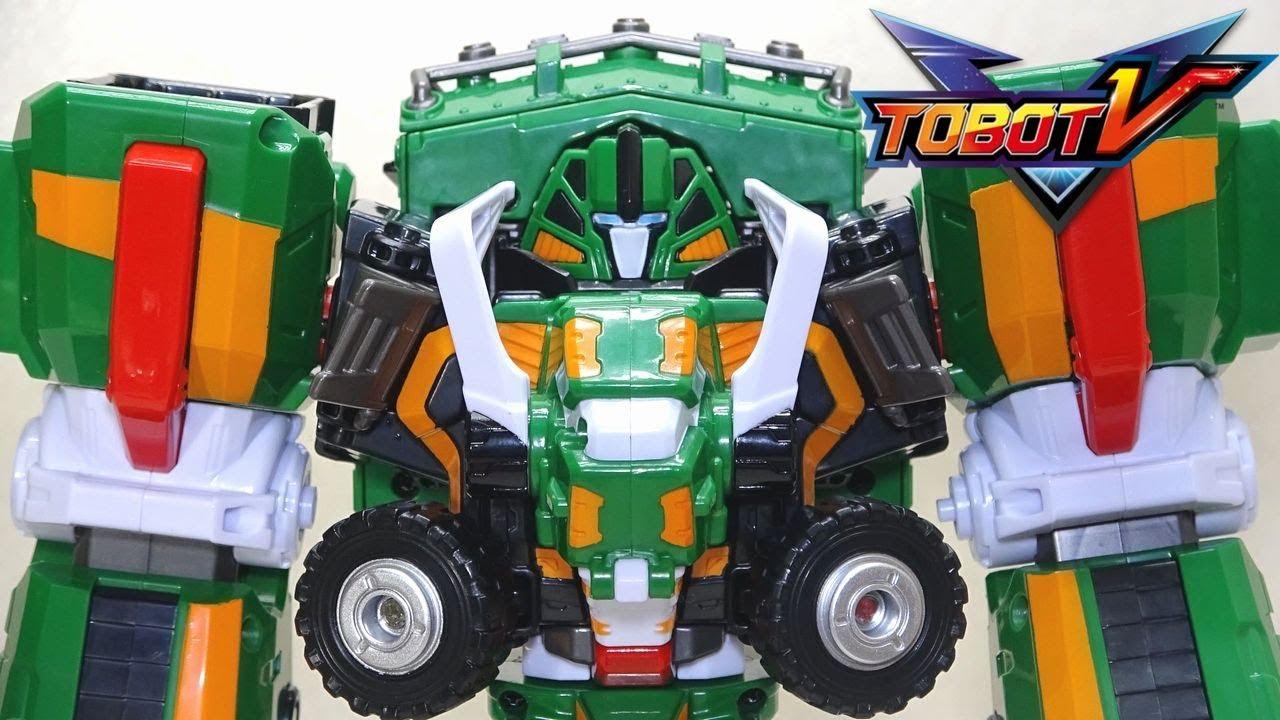 New Tobot V TROLL Transformer Mammoth Robot Truck Car Integration Robots Toy