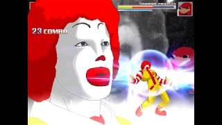 {MUGEN} Advanced Ronald McDonald Survival Playthrough