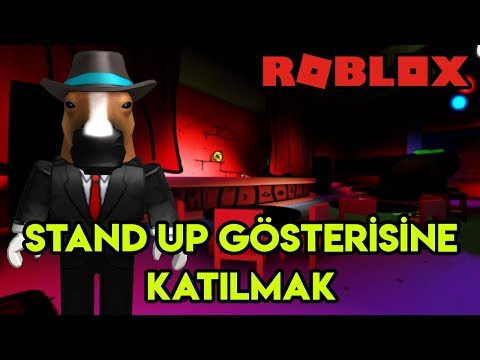 🤣 Stand Up Gösterisine Katılıyoruz 🤣 | Comedy Club | Roblox Türkçe
