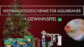 11 WEIHNACHTSGESCHENKE FÜR AQUARIANER | +GEWINNSPIEL | GarnelenTv