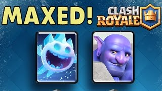 Clash Royale | MAXED OUT BOWLER & ICE SPIRIT Gameplay & Stats!
