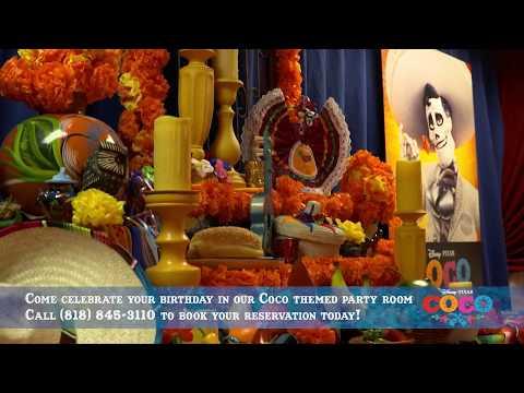 Coco Birthday Party at The El Capitan Theatre