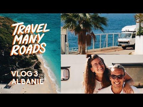 VLOG 3 |  LANGS DE KUST - ALBANIË | TRAVELMANYROADS