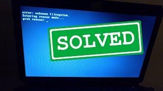 Fix Grub Rescue after Windows 10 Creators Update