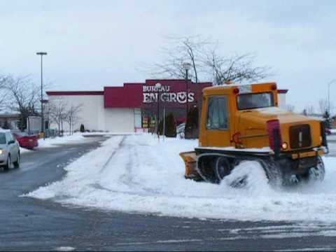 Bombardier sidewalk plow by Paul Vanderzon