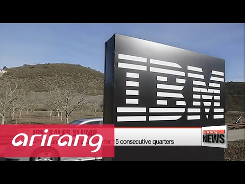 IBM's sales fall for 15 consecutive quarters