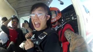 Julie Goes SKYDIVING!!! | Vlog