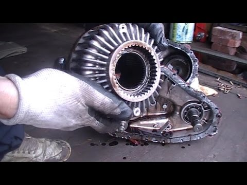 A viscous coupling AWD  Ford / Mountaineer 2002-2010