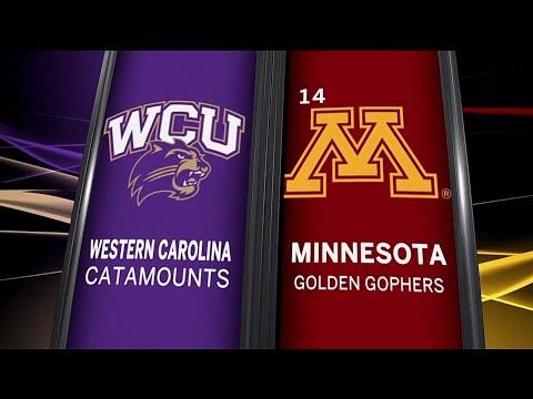 Western Carolina at Minnesota - Men's Basketball Highlights