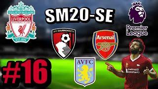 SM20-SE. Карьера за Ливерпуль #16. Результативная ничья с Арсеналом. 10 голов в одном матче.