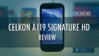 Celkon A119 Signature HD Review