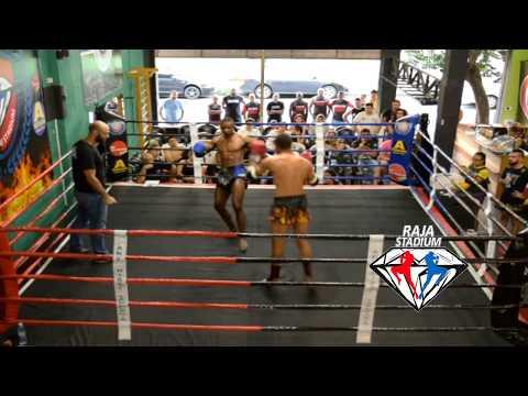 Muay Thai - Jonatan Pele vs Diego Lima - Raja GP 19.11.17