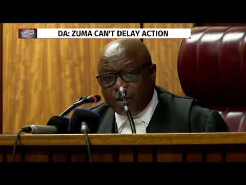 DA application for state capture dismissed