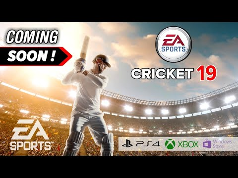 Ea Sports Cricket 19 Coming Soon Biggest Cricket Game Is Back Ea Cricket 2019 In Hindi