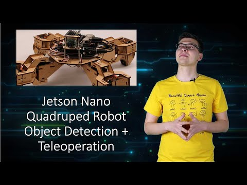 Jetson Nano Quadruped Robot Object Detection Tutorial: 4 Steps