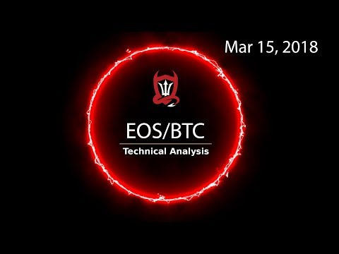 EOS Technical Analysis (EOS/BTC) Why did it stop there..? [03/15/2018]