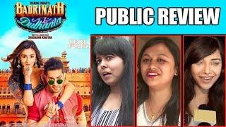 Badrinath Ki Dulhaniya Public REVIEW - First Day First Show - Varun Dhawan, Alia Bhatt