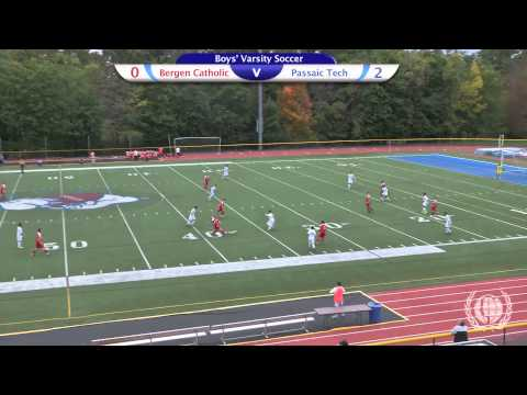 Boys' Varsity Soccer vs. Bergen Catholic High School, 2014