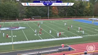 Boys' Varsity Soccer Vs. Bergen Catholic High School, 2014