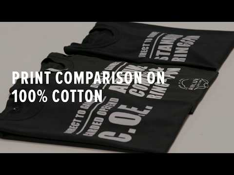 Best Cotton T-shirt to Print on — DTG & Screen Print Comparison