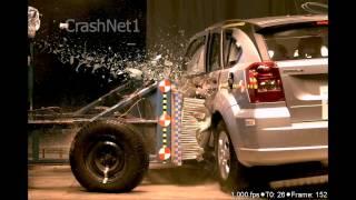 2011 Dodge Caliber | Side Crash Test by NHTSA | CrashNet1