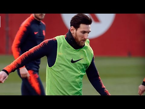 Henry tells what a furious Messi did in training back in 200