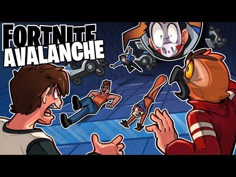 CLIMB THE AVALANCHE! (Creative Mini Game) - Fortnite Battle Royale